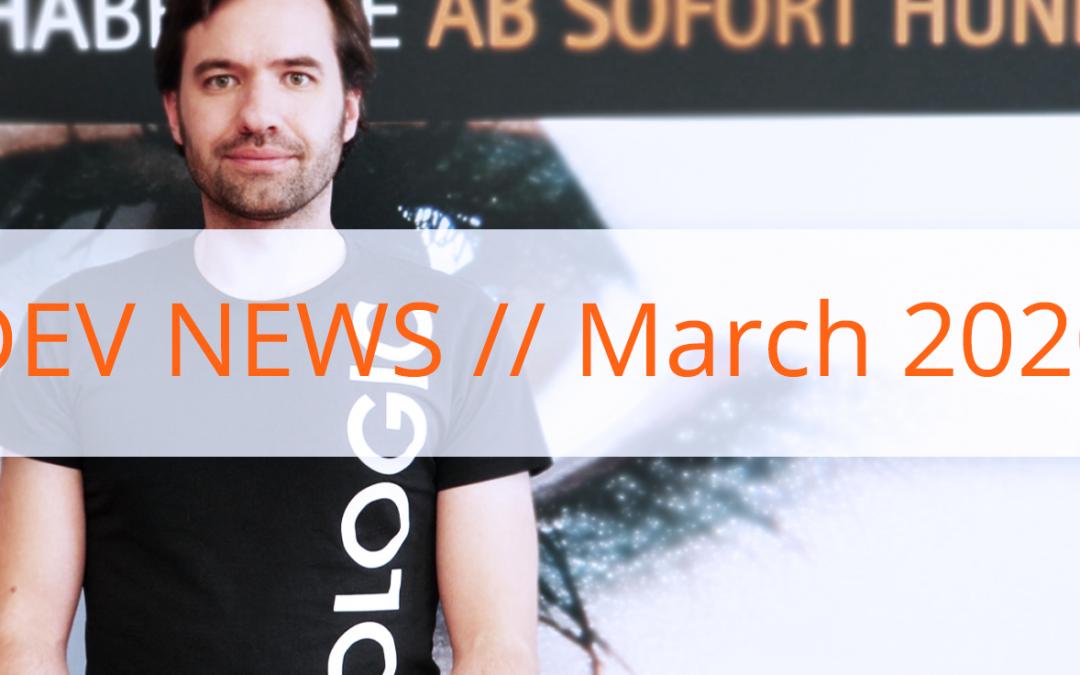 Video Dev News // March 2020