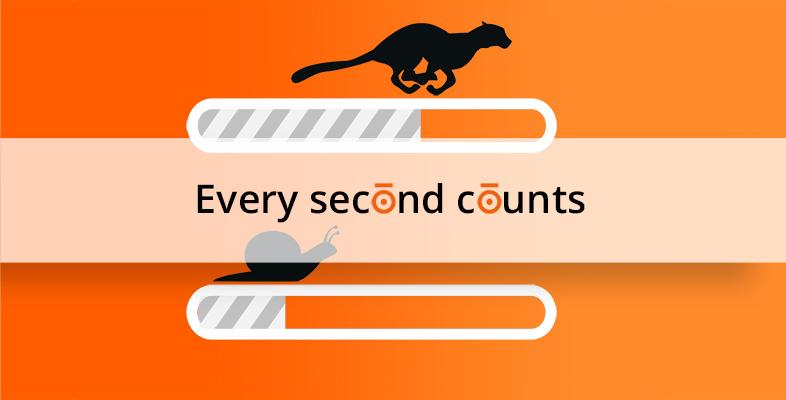 Jede Sekunde zählt! Zusammenhang von Conversion-Rate und Ladezeit